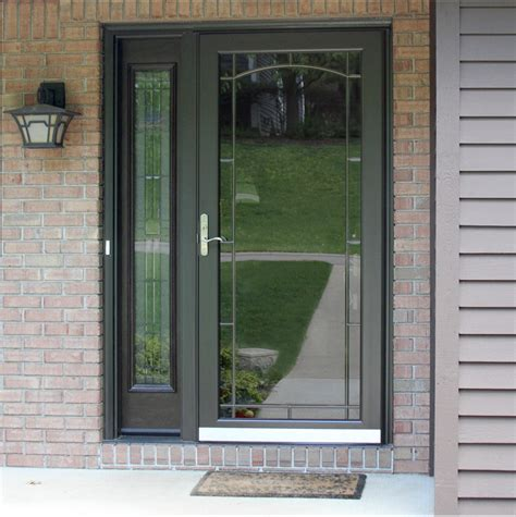 front door screens custom aluminum doors screen doors provia