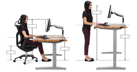 computer desk ergonomics measurements ergonomic office desk chair and keyboard height calculator