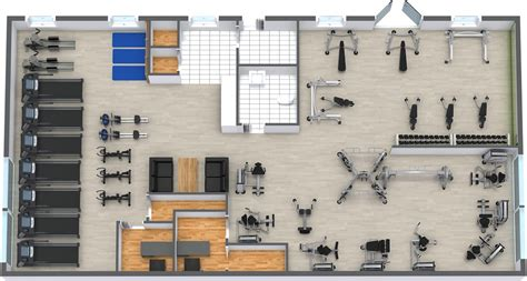 Bedroom Layout Planner Free Online gym floor plan roomsketcher