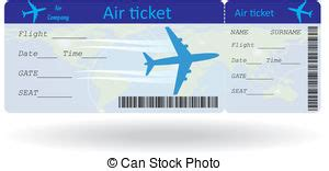 boarding pass clip art vector and illustration 2 452