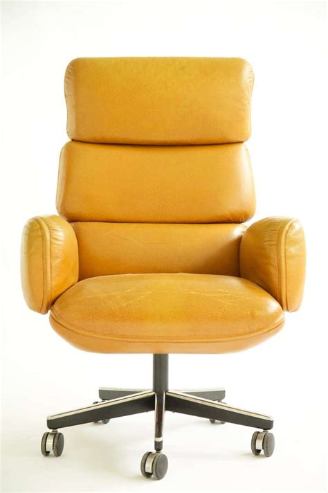 executive office desk chairs otto zapf executive desk chair at 1stdibs
