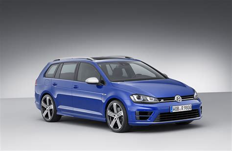 300 hp volkswagen golf r variant wagon revealed ahead of