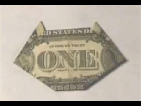 dollar bill origami cat easy cat origami dollar bill moneygami paper