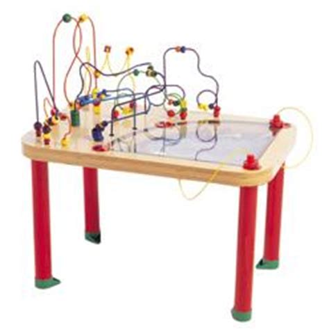 bead maze table activity tables circle of magnetic bead maze table