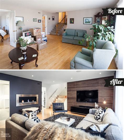 before and after a designer how to boost your home s d 233 cor with a living room makeover