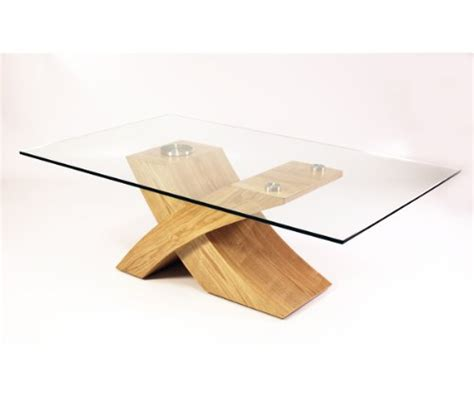 coffee table offers quot x quot glass wood coffee table oak best offers