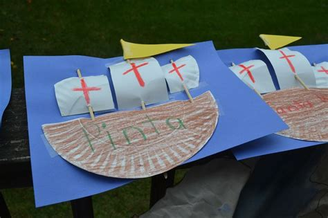 columbus day crafts for columbus day craft homeschool with dakota