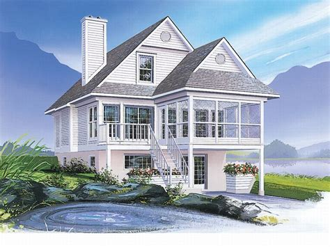 coastal homes plans plan 027h 0140 find unique house plans home plans and