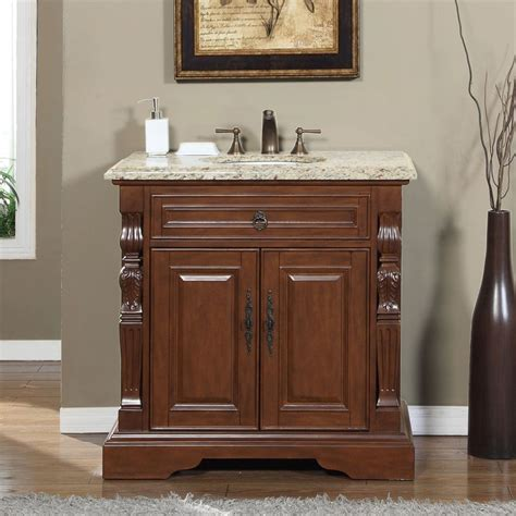 bathroom vanity sink top accord 36 inch single sink bathroom vanity venetian