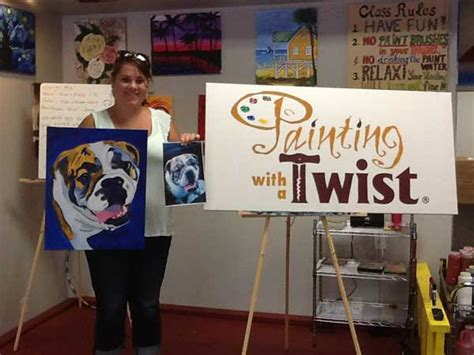 painting with a twist lansing paint your pet paint a portrait of your at painting with a twist