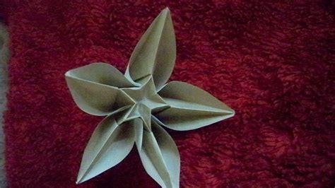origami flower carambola origami carambola flower by zanadov on deviantart