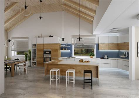 projet de villa avec toit cath 233 drale salon biblioth 232 que hauteur sous plafond et grands espaces
