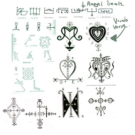 santeria and their meanings voodoo symbols cursed series