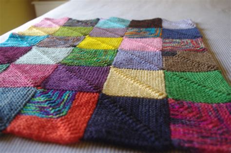 knitting blanket knitting blankets and a pattern for mitred squares knit as