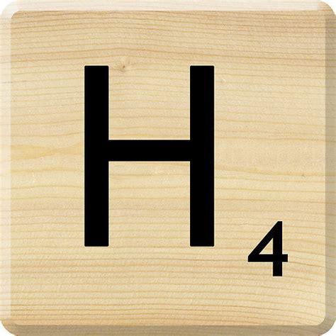 Quot H Quot Scrabble Letter Drink Coaster Ideal Present Bargain