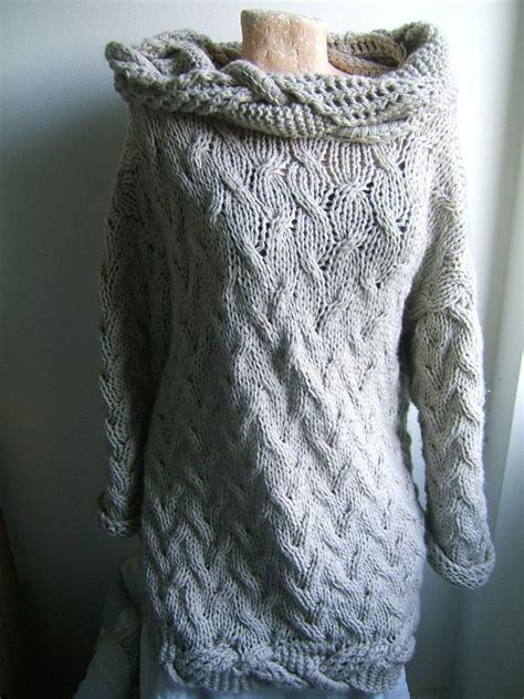 Knit Sweater Dress Patterns A Knitting