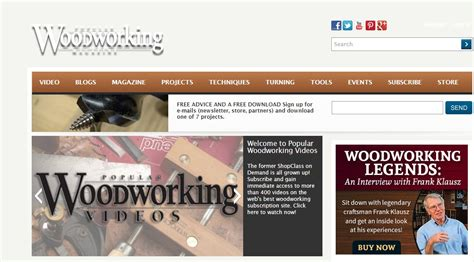 popular woodworking subscription 25 best woodworking blogs for 2016 drum sander specialists