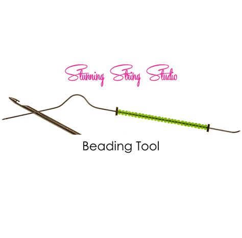 bead sizer tool bent style beading tool your choice of size