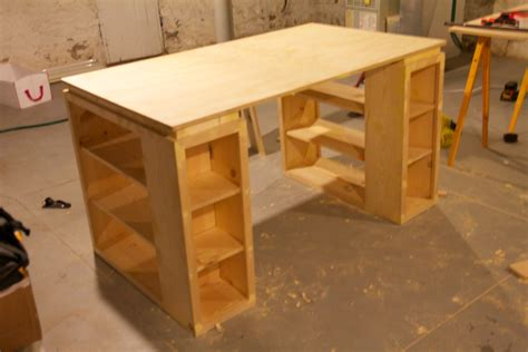 craft table make it yourself wooden sewing table acctually decided