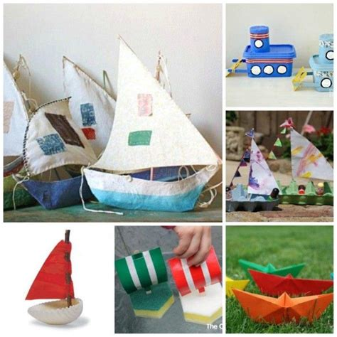 kid craft boats 17 best ideas about boat craft on boat