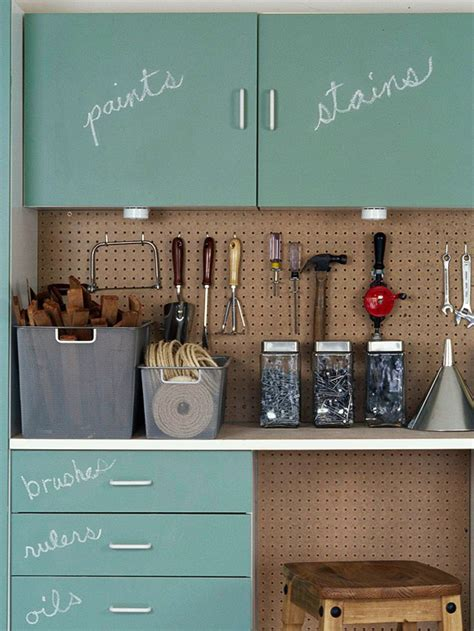 chalkboard paint builders warehouse 25 garage storage ideas that will make your so much