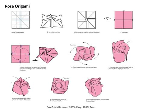 origami flower pattern origami flowers step by step origami flower