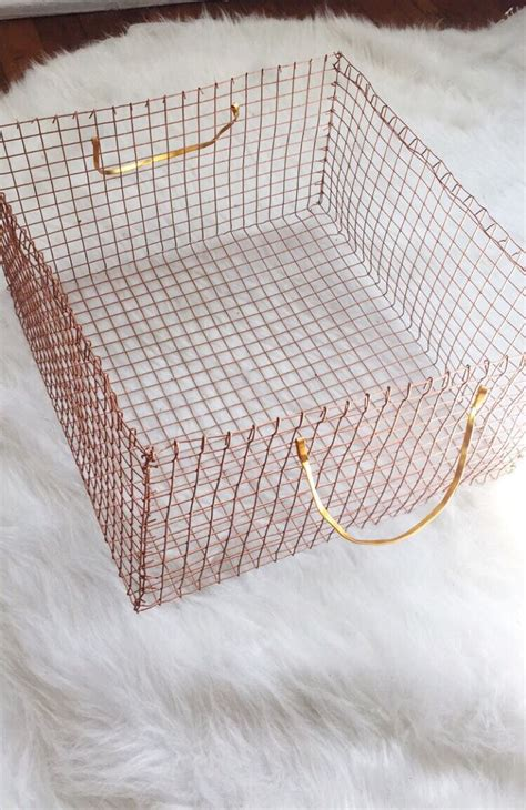 copper wire craft projects diy copper wire basket crafty witch more