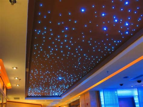 5w wirless remote fiber optic ceiling for