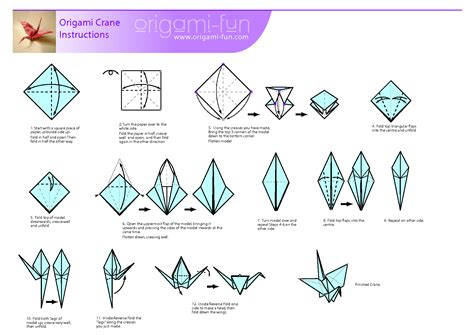 origami pdfs image gallery origami crane pdf