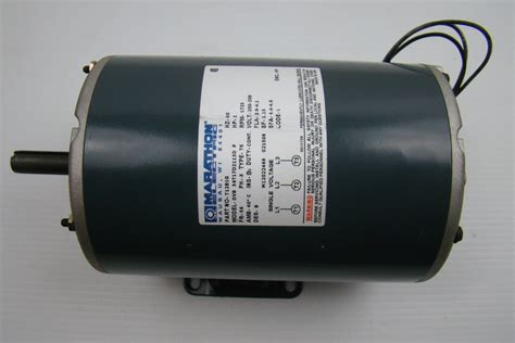 1 Hp Electric Motor by Marathon Electric Motor 200 208v 1 Hp Dvb56t17d2113d Ebay
