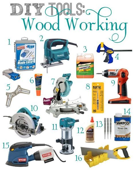 woodworking kits for beginners best 20 power tools ideas on