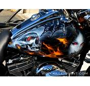 Harley Davidson  Killer Paint Airbrush Studio