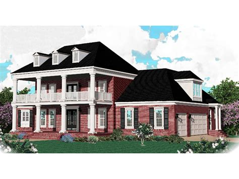 plantation house plans southern plantation home plan 087s 0035 house plans and more