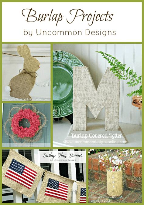 burlap crafts projects burlap flower napkin rings using burlap in your tablescape