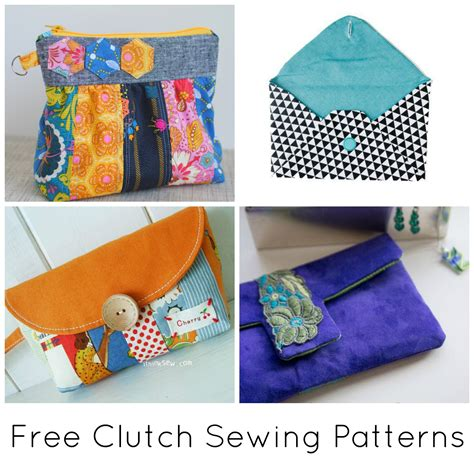 free sewing craft patterns 10 free clutch sewing patterns to bust your stash