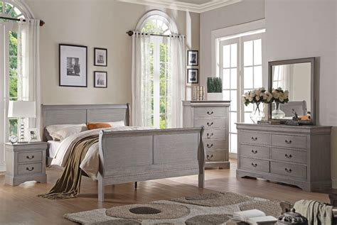 grey bedroom with white furniture louis philippe antique grey bedroom furniture