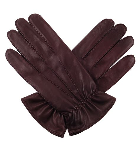 brown leather gloves mens tom and harry leather gloves for in brown silk lined