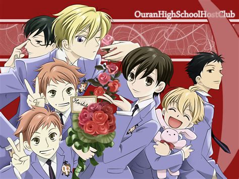 ouran highschool host club mini reviews fruits basket ghost hunt ouran high school