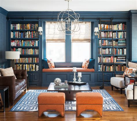living room library pine library transitional living room other metro
