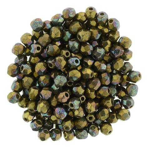 bead catalogs firepolish 3mm oxidized bronze clay starman wholesale