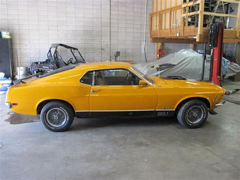 1970 ford mustang mach 1 well maintained by original owner classic classics groovecar 1970 ford mustang mach 1 428 cj fastback 161231