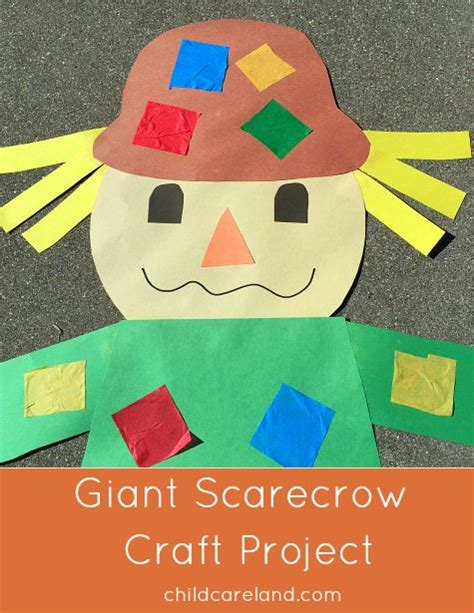 paper bag scarecrow craft for preschoolers 1000 ideas about scarecrow crafts on fall