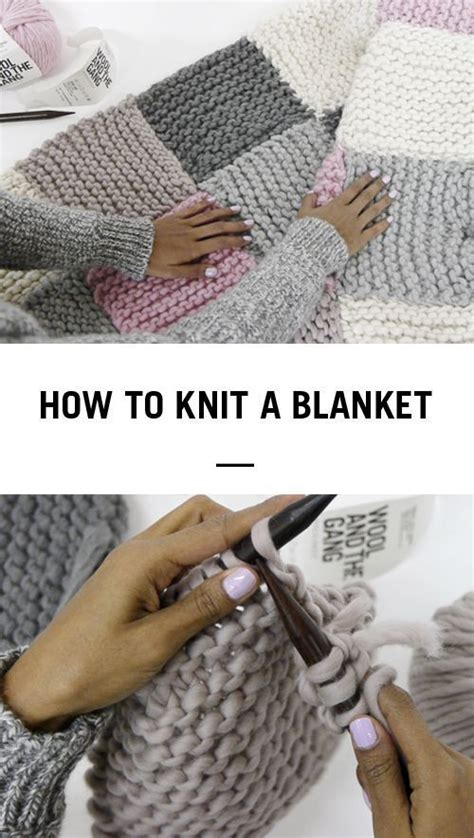 how to knit a blanket for beginners the 25 best beginner knitting ideas on