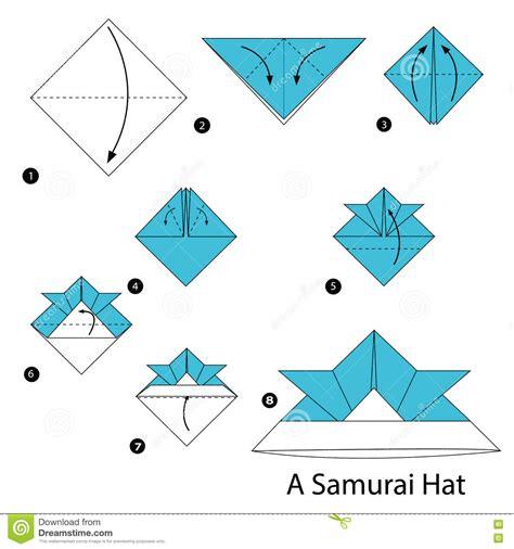 samurai hat origami step by step how to make origami a samurai