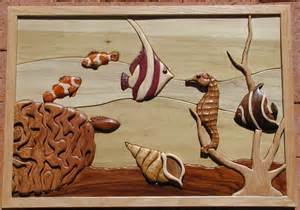 what is intarsia woodworking free intarsia patterns intarsia fish woodcraving