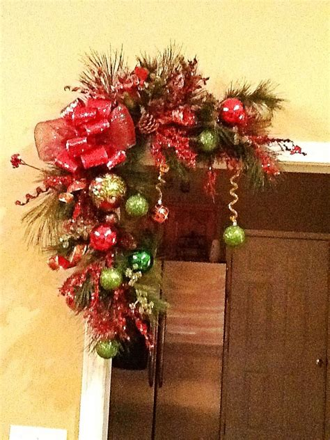 cheap garlands and swags 25 best ideas about swags on door