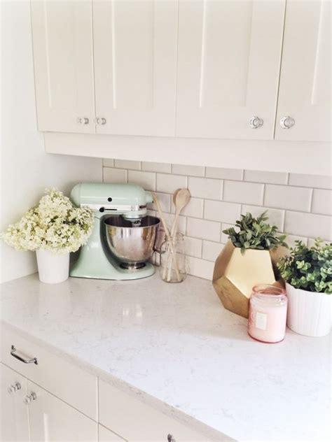 white kitchen decor ideas best 25 kitchen counter decorations ideas on
