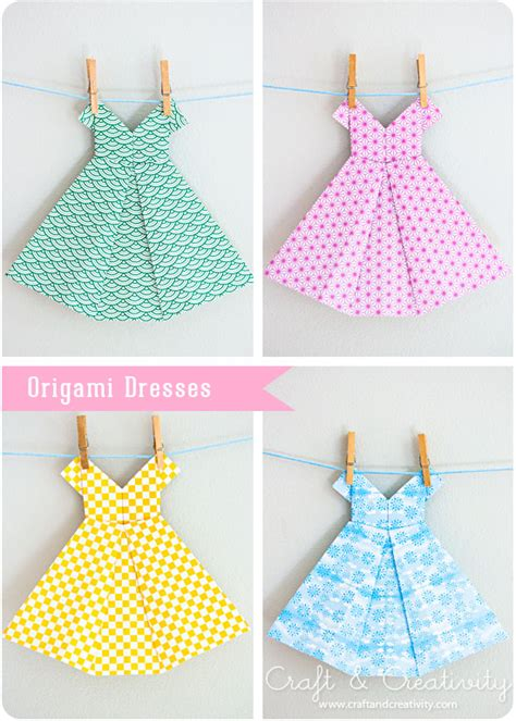 how to fold origami dress origami dresses