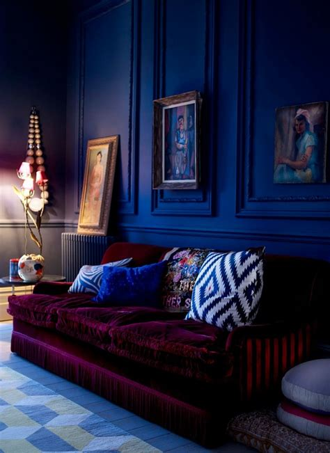 blue interior design back to classic how to get a interior design in blue