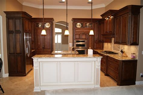 white kitchen cabinets with island the worth to be made espresso kitchen cabinets ideas you